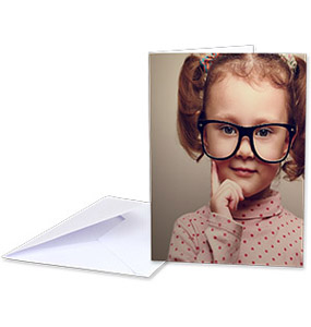 "7.5 x 5"" Portrait Greeting Card"