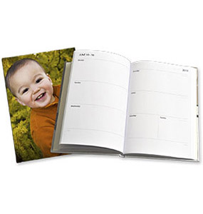 A5 Portrait Personalised Diary