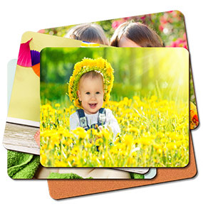 Set of six placemats multi image